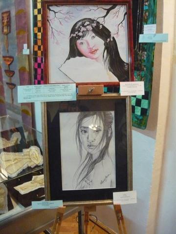 portretul de jos este realizat de Flavia Stanciu (an II)